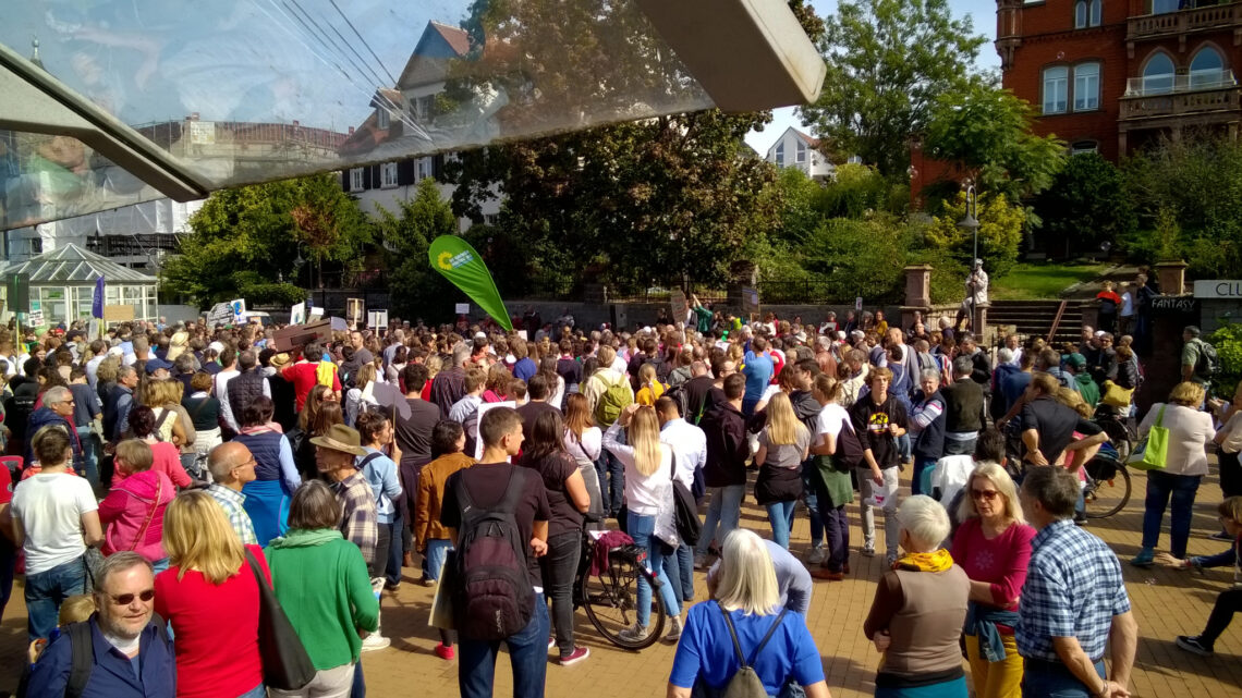 Globale Klimastreik-Woche – auch in Bensheim
