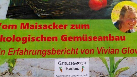 Vom Maisacker zum ökologischen Gemüseanbau