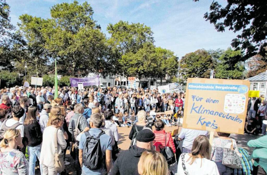 Foto der Klimademonstration September 2019
